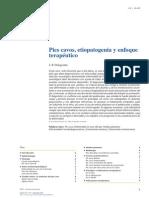 2014 Pies Cavos, Etiopatogenia y Enfoque Terapéutico