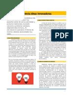 Detecta Ideas Innovadoras PARA PDF