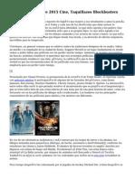 Las 15 Películas De 2015 Cine, Taquillazos Blockbusters