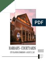 Harrah's Casino courtyard