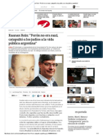 Raanan Rein - Peron y los judios