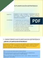 Generalidades de La Planeacion Estrategica