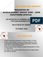 Africa Kommt Southern Africa 14.10