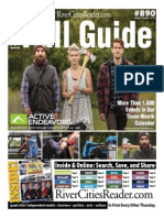 River Cities' Reader Issue 890 Featuring the 2015 Fall Guide and KWQC Family Fun Guide
