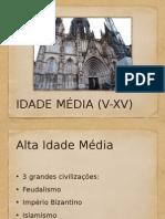 Alta Idade Média (1)