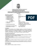 2014-2 Biologia de La Conservacion Plan 2003, Prof. Mauro Mariano a.