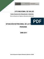 Situaciòn Nutricional Perù 2008-2011