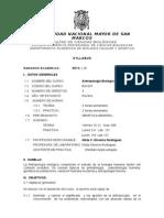 Antropologia Biologica Plan 2003, Prof. Nilda Oliveros, Sem 2014-2