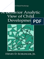 A Behavior Analytic View