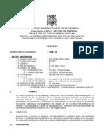 Biologia Pesquera Plan 2003, Prof. Marco Espino Sem 2014-2