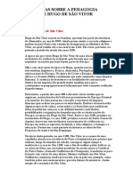 Notas Sobre a Pedagogia de Hugo de São Vitor Cristianismo.org Httpwww.cristianismo.org.Brpedggvit.htm