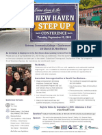 New Haven Step Up Conference