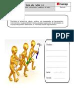 Guía 1.4 Equipos y Herramientas Para La Operación de Taller