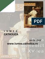 Lumea Catholica, aprilie 2008