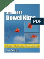 Mbk Simplest Dowel Kites