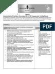 Prioritized Secondary Facility Needs - 2015