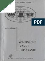 Šahovska Knjiga Vajnstajn,Boris Kombinacije i Varke u Otvaranju