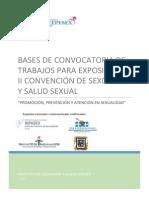 Bases Convocatoria Trabajos de Exposición II Convención