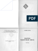 Šahovska Knjiga Vukovic,V. - Razvoj Sahovskih Ideja