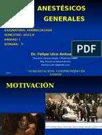 Farmacología - Anestésicos Generales