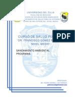 Saneamiento Ambiental - Programa.pdf