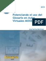 Apunte introductorio Taller Potenciando el uso del Glosario en Aulas Virtuales MOODLE