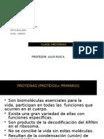 Clase Proteínas 2012