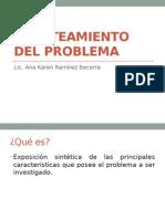 Clase 5. Planteamiento Del Problema