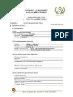 Ficha de Práctica Secretariado y Oficinista