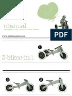 Manual Bicicleta Madera