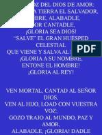 Himno 343;Oid La Voz