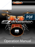 Toontrack Ezdrummer Operation Manual