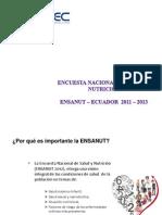 Presentacion de Los Principales Resultados ENSANUT