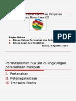 Presentasi Bagian Hukum 2015