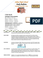 SHS Daily Bulletin 9-3-15
