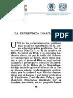 La entrevista Díaz-Taft Archivos histórico