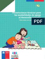 Orientaciones Tecnicas Para Las Modalidades de Apoyo Al Desarrollo Infantil
