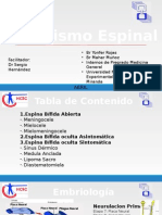 DISRAFISMO ESPINAL
