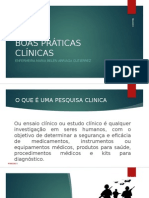 Boas Praticas Clinicas