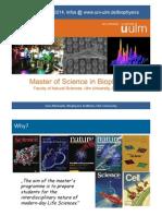 Biophysics Master Info