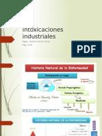 Intoxicaciones Industriales Toxicología  2