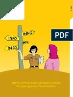Modul Pelatihan Implementasi Undang Undang No 14 Tahun 2008 Di Badan Publi