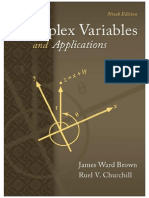 Complex Variables and Applications 9th Edition