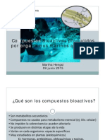 Bioactivos Algas