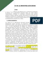 Diagnóstico de La Industria Azucarera