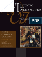 VI Encontro Ordem Militares Programa NET