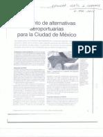 Alternativas  Arepuerto de La CDMX