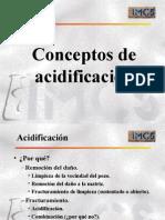 Conceptos de Acidificación