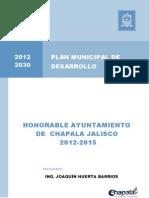 Plan  Municipal de Desarrollo Chapala