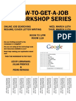 HOW-TO-GET-A-JOB WORKSHOP SERIES